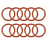 uxcell Silicone O-Ring, 28mm Outside