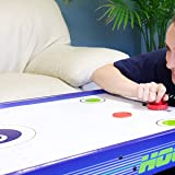 Yeelan Air Hockey Pushers & Pucks Set, Large Size