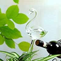Blesiya Automatic Self Plant Watering Bulb Globe Device Indoor Houseplant - Swan