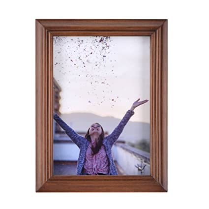 Amazon.com - RPJC 4x6 Picture Frames Made of Solid Wood High ...