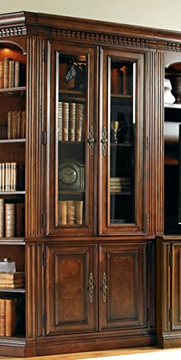 Hooker Furniture European Renaissance II Glass Door Bookcase