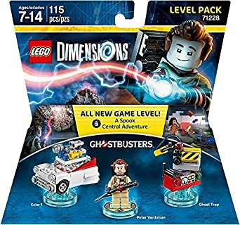 Amazon Com Ghostbusters Level Pack Lego Dimensions V Ld Ghostbusters Level Pack Video Games