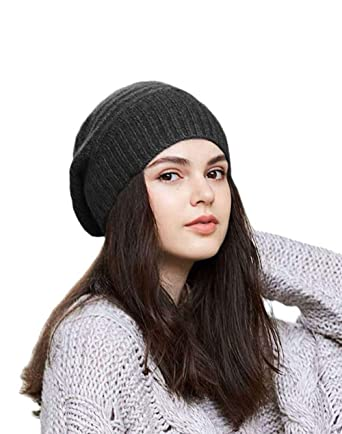 8cc70bdbd97 Cashmere Blended Slouchy Beanie for Women