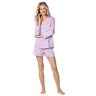 Addison Meadow Pajama Shorts for Women - Soft Cotton Womens PJs at Amazon Women's Clothing store