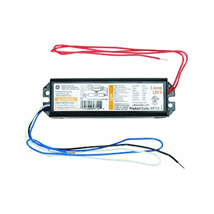 ge lighting 89712 gem120tc120diy lfl magnetic rapid start ballast