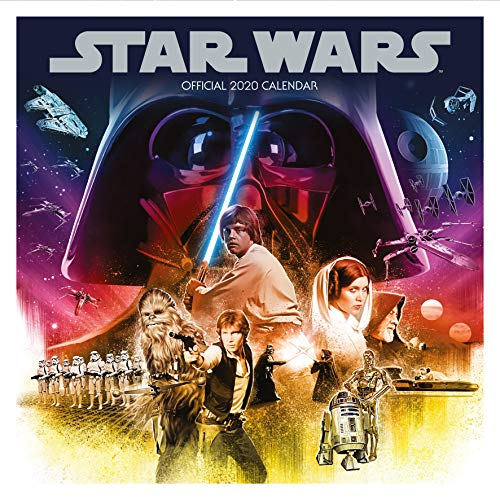 Star Wars Classic 2020 Calendar - Official Square Wall Format Calendar por Star Wars
