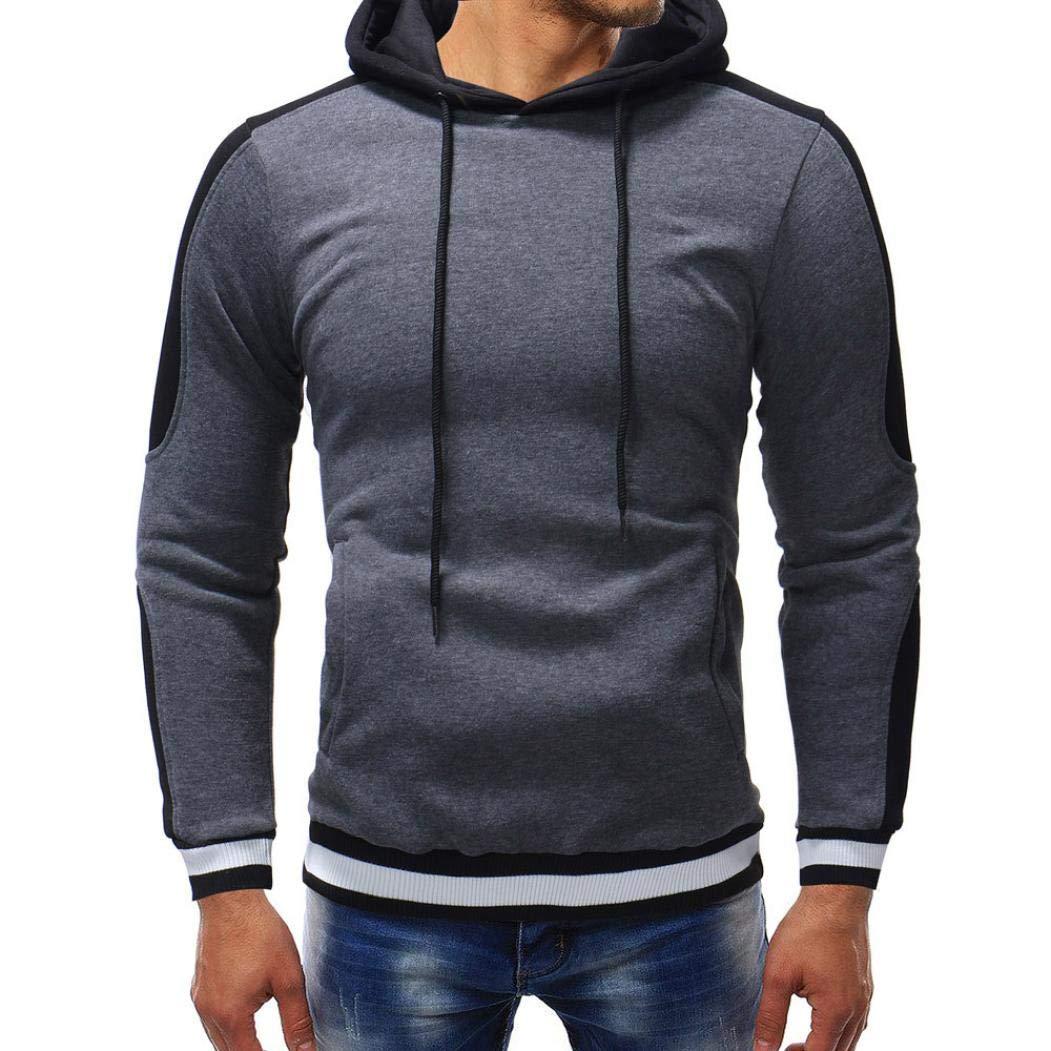 Kstare Men's Lightweight Fleece Sweatshirt Hoodie