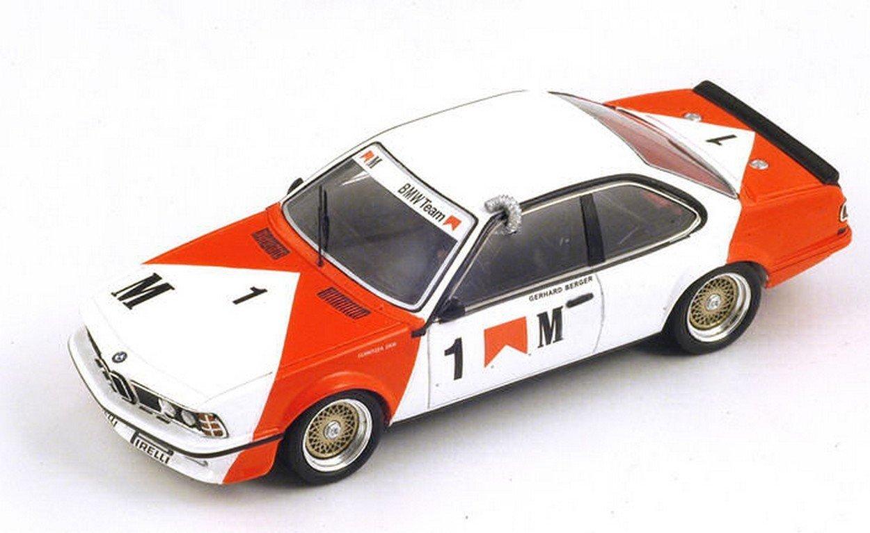 Spark Model SA055 BMW 635 CSI N.1 2nd Macau GUIA Race 1985 G.Berger 1:43 Model