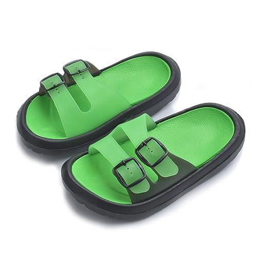 11e201fd0 Toddler Little Kid Walking Sandals Non-Slip Beach Shoes Lightweight Shower  Pool Slippers (Toddler
