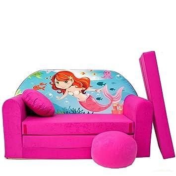 h4 + - divano letto per bambini divano 3 in 1, composto da divano ... - Divano Letto Per I Bambini