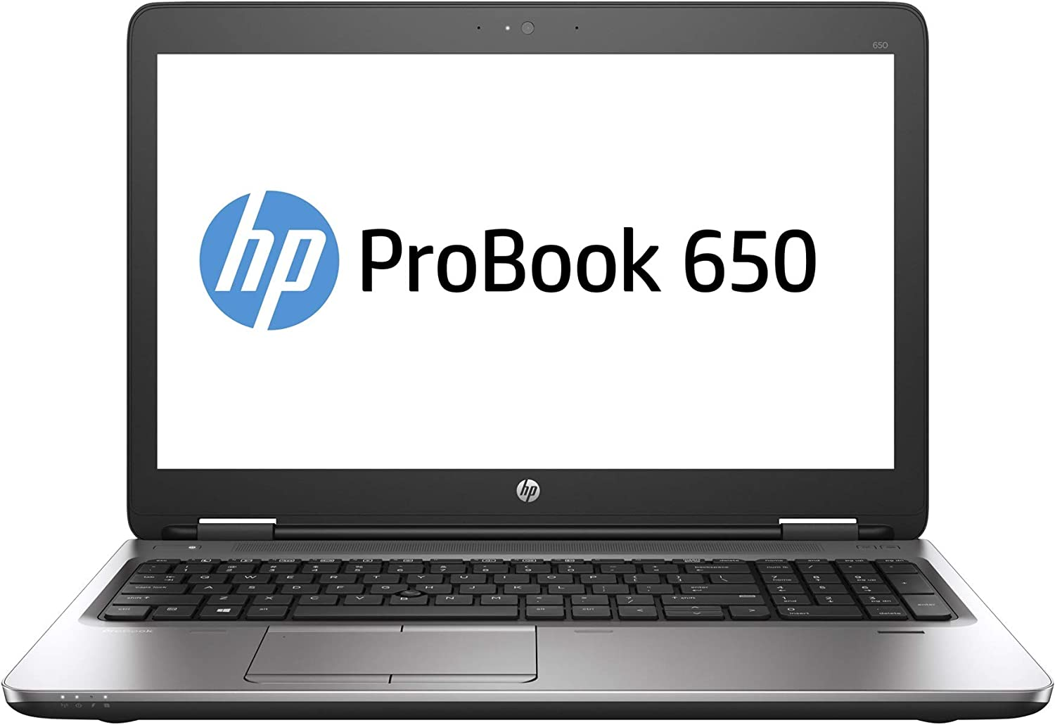 "HP 15.6"" Laptop ProBook 650 G2, Intel Core 6300U, 8GB RAM, 256GB SSD, Windows 10 Pro 64-bit - 7VJ87UT#ABA (Renewed)"