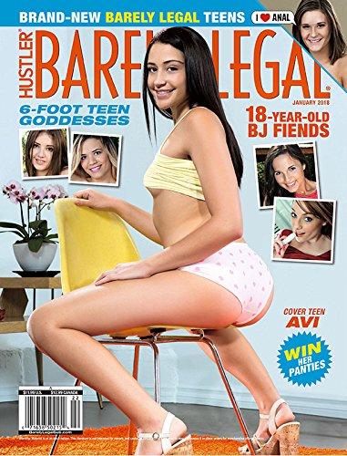 Hustler Barely Legal Adult Magazine January 2018