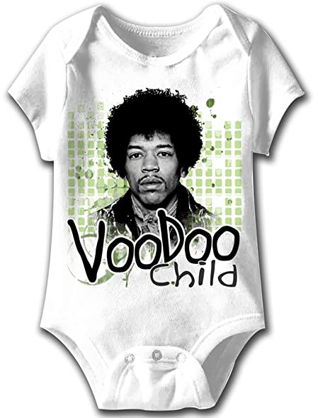 Amazon Com A E Designs Jimi Hendrix Romper Voodoo Child Baby