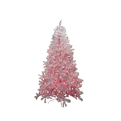 Northlight Pre-Lit White Cedar Pine Artificial Christmas Tree with Pink  Lights, 7.5' - Amazon.com: Northlight Pre-Lit White Cedar Pine Artificial Christmas