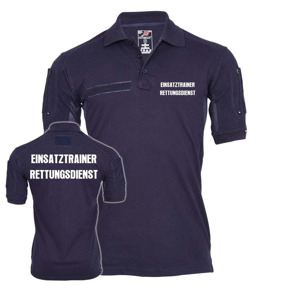 Tactical Polo EINSATZTRAINER Rettungsdienst Sanitäter Feuerwehr Leitung  24682