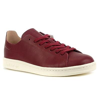 adidas Originals Women's Stan Smith W Fashion Sneaker (6, Collegiate Burgundy)