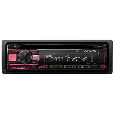 Alpine Single DIN Car Stereo Receiver: Electronics
