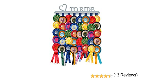 The Medal Hanger Shop Roseta Percha Pantalla Love to Ride de Acero Inoxidable Cepillado – Fabricado en Gran Bretaña: Amazon.es: Deportes y aire libre
