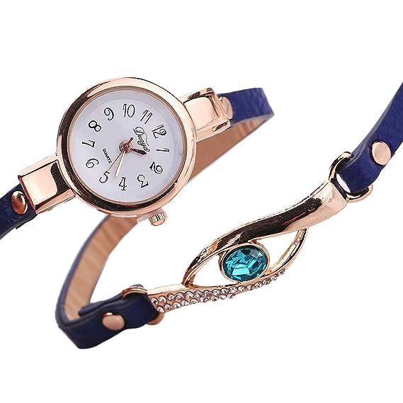 Bestow Forme a Mujeres el Abrigo del Diamante Alrededor del Reloj de Se?ora del