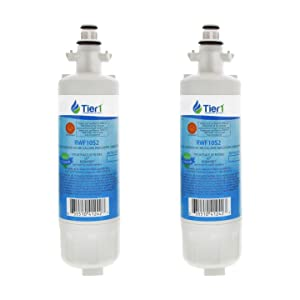 Tier1 Replacement for LG LT700P, ADQ36006101, ADQ36006102, Kenmore 46-9690, 469690 Refrigerator Water Filter 2 Pack