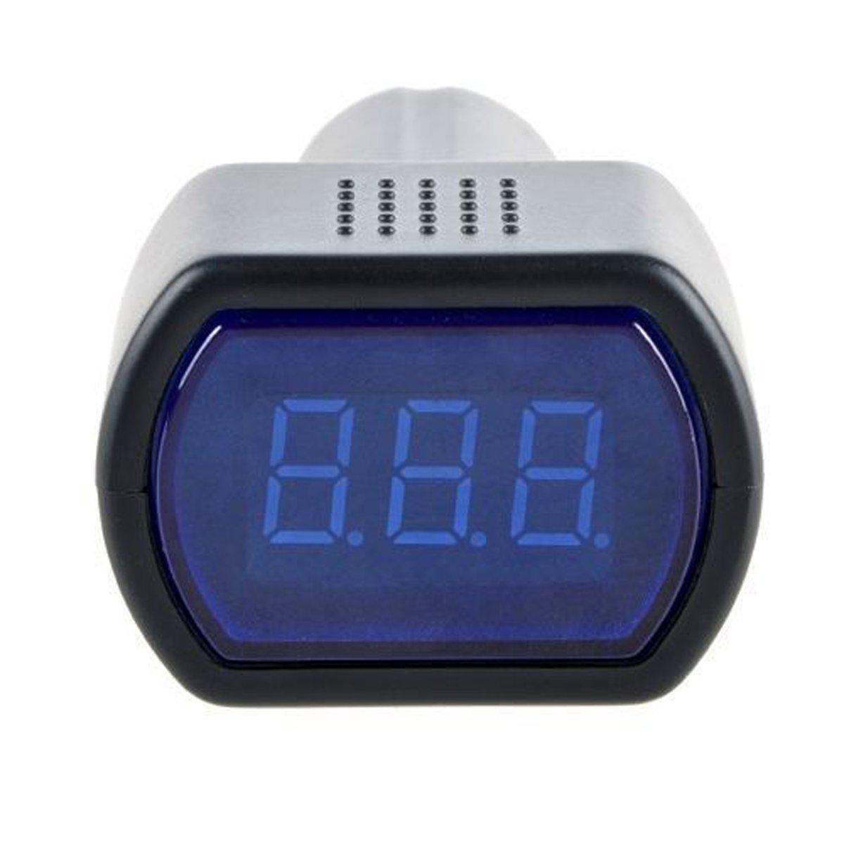 Stylez車バッテリーElectric LEDシガレットライター電圧計電圧メーターゲージテスター B074XM6H8F