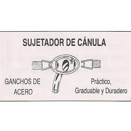 Sujetador de Cánula traqueotomia-Unidad