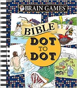 b705c409e5536e Amazon.com  Brain Games - Bible Dot to Dot (Brain Games - Dot to Dot)  (9781680228038)  Publications International Ltd.  Books