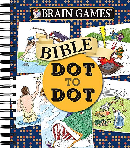 Brain Games - Bible Dot to Dot (Brain Games - Dot to Dot) -