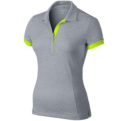 770a5df7d Amazon.com: Nike Golf Women's Dri-Fit Victory Block Polo - Wolf Gray ...