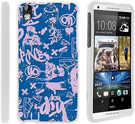 Amazon.com: TurtleArmor - Carcasa rígida para HTC Desire 816 ...