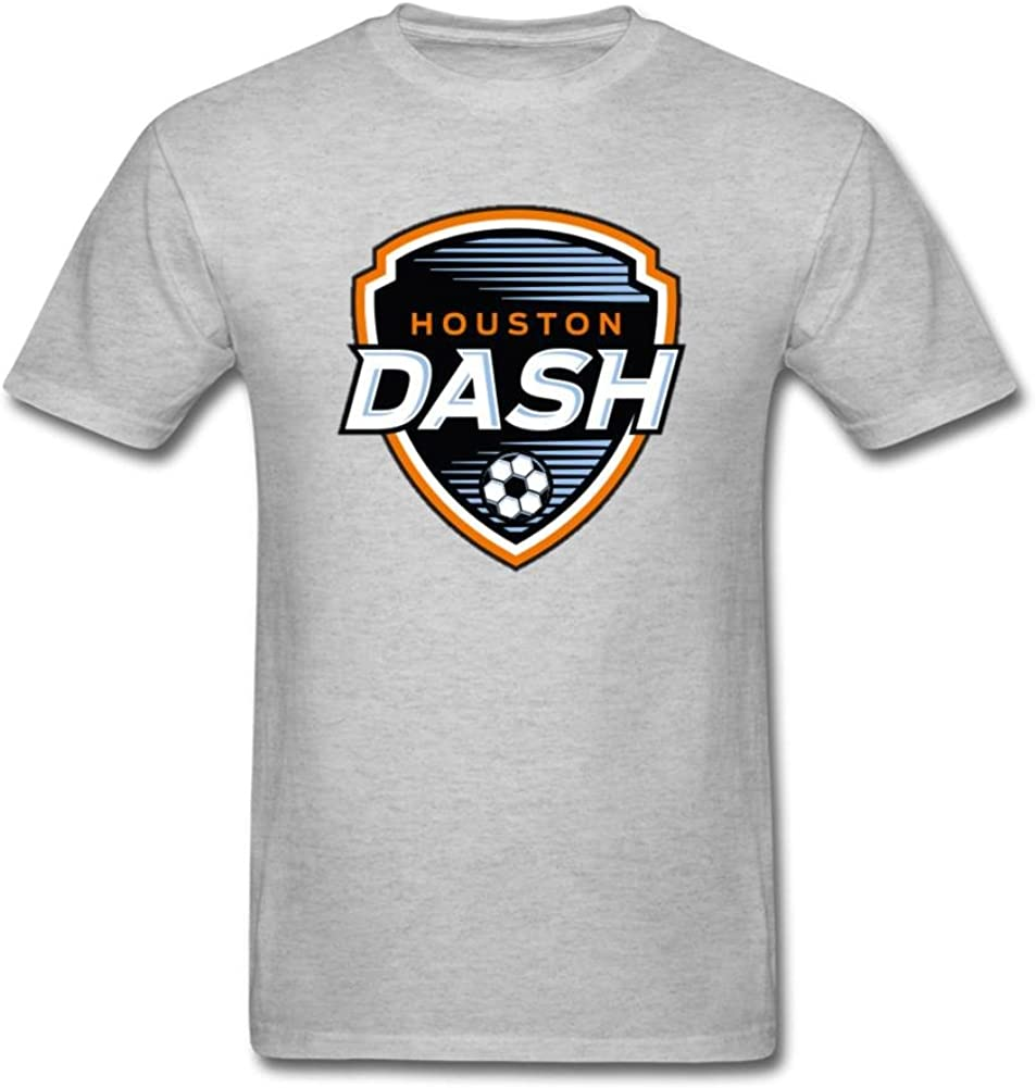 Timwood Men's Houston Dash NWSL Logo Short Sleeve T-Shirt