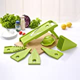 Yofit Mandoline Slicer Vegetable Slicer Vegetable Julienne Slicer with 5 V-Blades