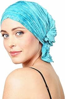 product image for Chemo Beanies Molly (Aqua Dye Ruffle)