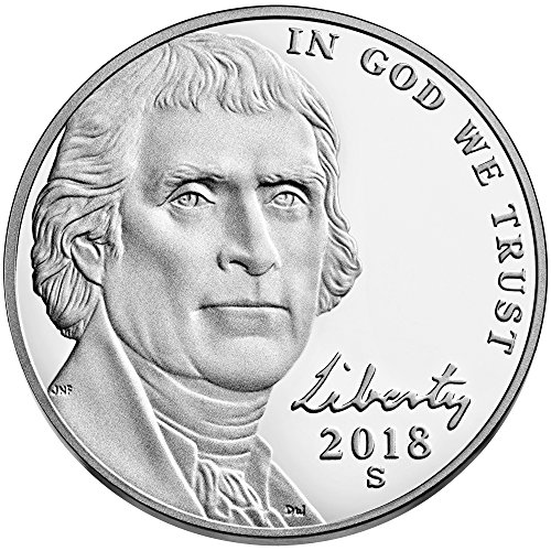 2018 S Jefferson Nickel Return to Monticello Nickel - Nickel Jefferson Mintage