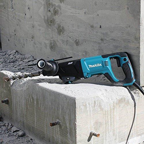 Makita HR2641X1 AVT Rotary Hammer 1/2 in. Angle Combo Kit