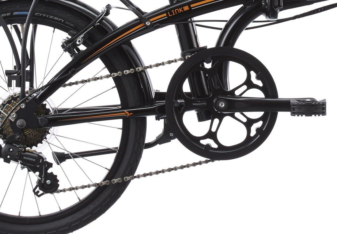 tern Link C7 - Bicicletas plegables (7/8 velocidades) - negro 2015 ...