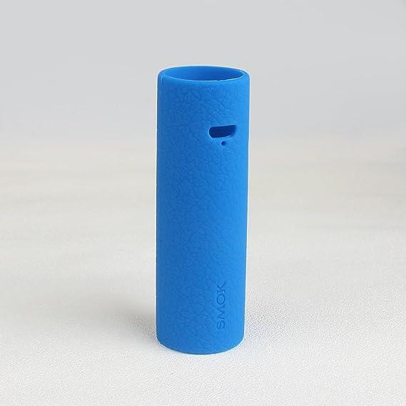 CEOKS para SMOK Stick V8 Funda de piel de silicona envoltura cubierta de gel de protección electrónica de cigarrillos