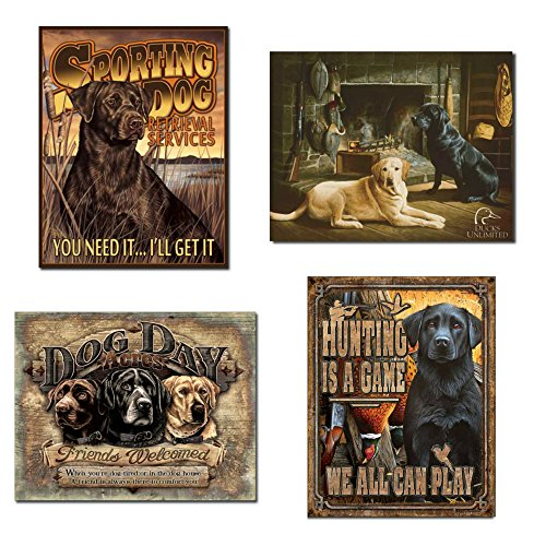 DE Sign Sporting Dog Hunting Tin Bundle - Sporting Dog Services,