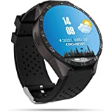 MouJi 3G Smart Watch,Bluetooth WiFi GPS with 2.0MP Camera Android 5.1 OS Heart Rate Monitor 1.39 inch Touch Screen Nano SIM Card Soket 智能手表 スマート腕時計