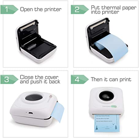 Rollenpapier für PeriPage PAPERANG POS  #LY Hermosapoty Thermo-Fotodruckpapier