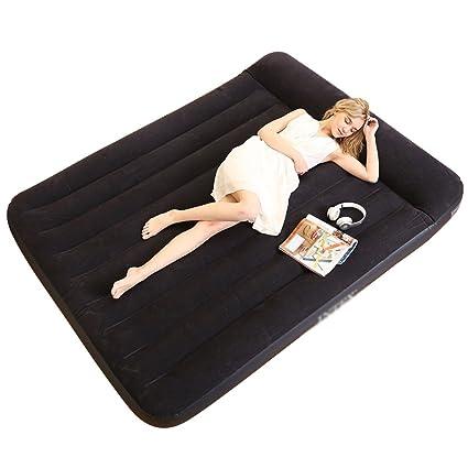 Ir bed Saco de Dormir Colchón de Aire Colchón Inflable Plegable al Aire Libre para el