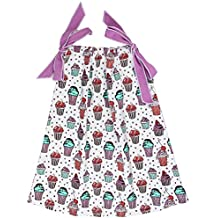 juDanzy cotton pillowcase dresses for girls & toddlers in various prints & sizes