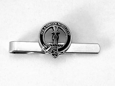 Alfiler de corbata con el escudo y moto del clan escocés Henderson (peltre inglés), en caja de regalo.: Amazon.es: Hogar