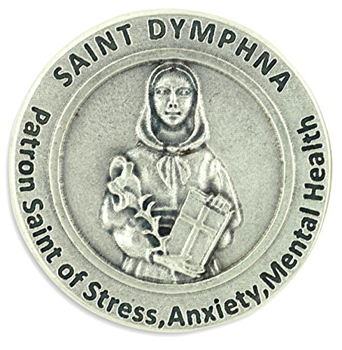 lot-of-3-st-st-saint-dymphna-pocket-token-coin-12-with-prayer-patron-stress-anxiety-mental-health