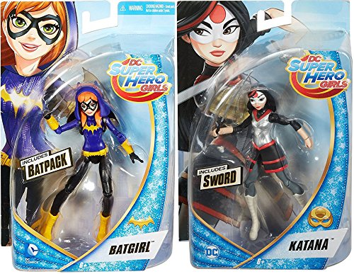 2016 Justice League Movie Costumes (DC Comics Super Hero Girls Katana 6