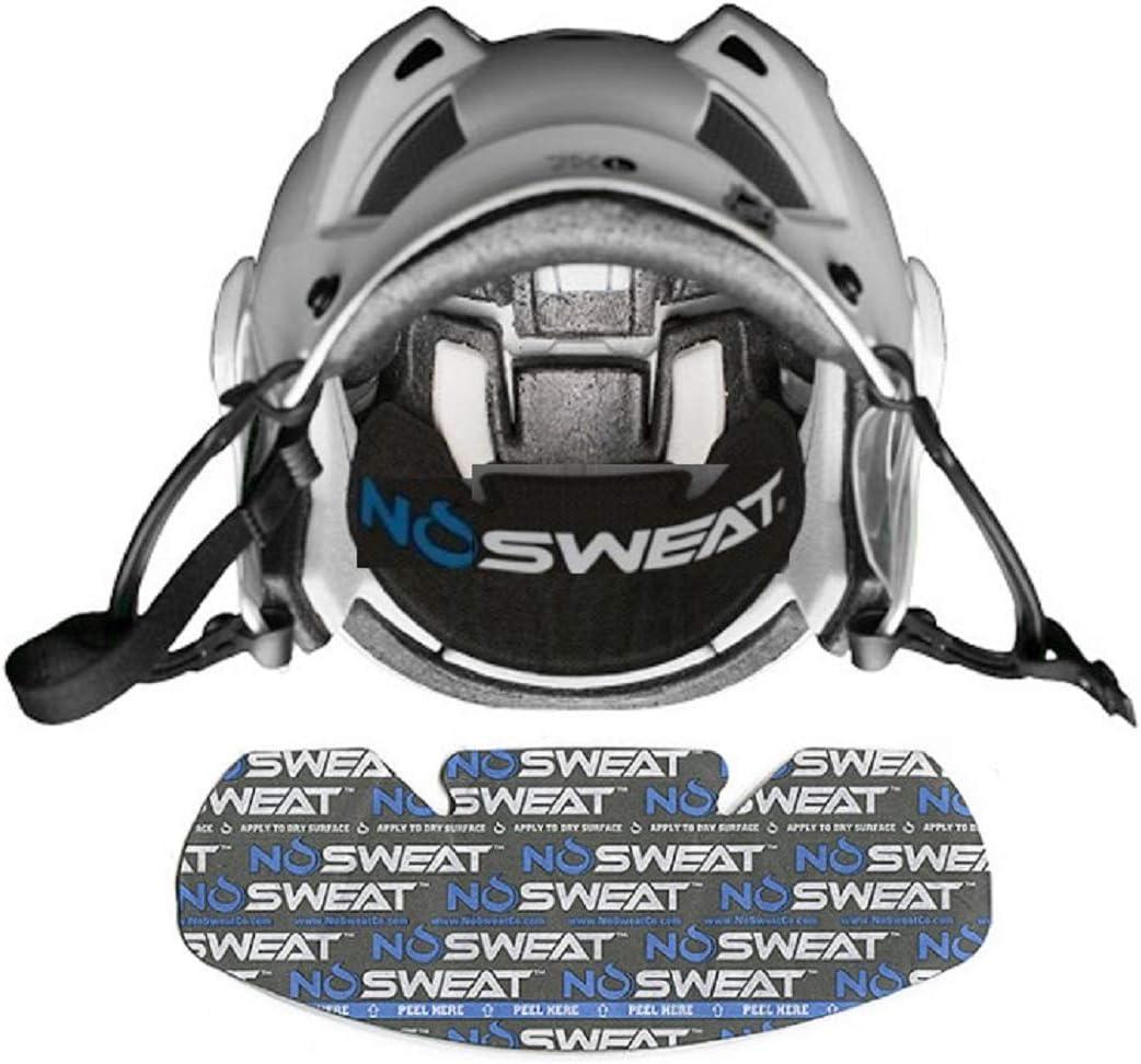 Shock Doctor NoSweat Helmet or HAT Liners Avoid Eye-Burn /& Odor Absorbs Sweat