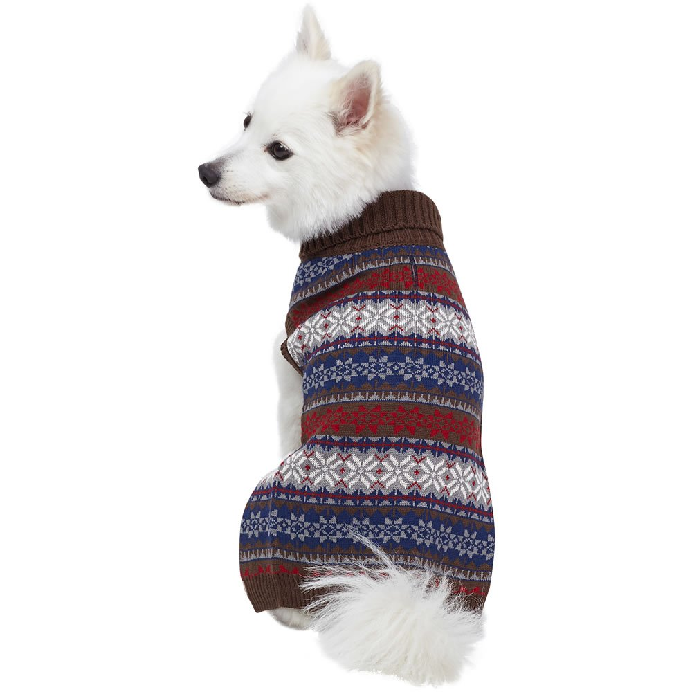 Blueberry Pet 3 Patterns Vintage Fair Isle or Lopi Designer Dog Sweater  product image 82b0dc074