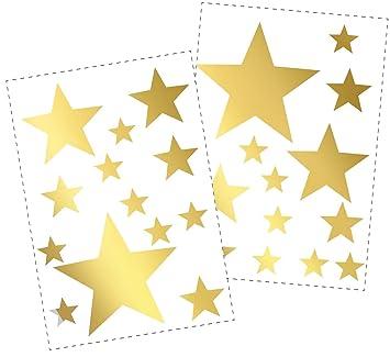 25 Sterne Wandtattoo Fürs Kinderzimmer   Wandsticker Set   Pastell Farben,  Baby Sternenhimmel Zum Kleben