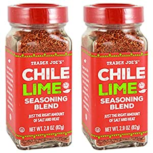 Trader Joe's Chile Lime Seasoning Blend, 2.9 oz (Pack of 2)