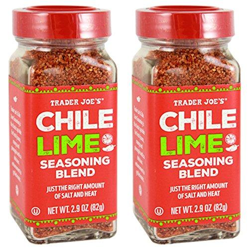 Trader Joe's Chile Lime Seasoning Blend, 2.9 oz (Pack of (Chili Blend)